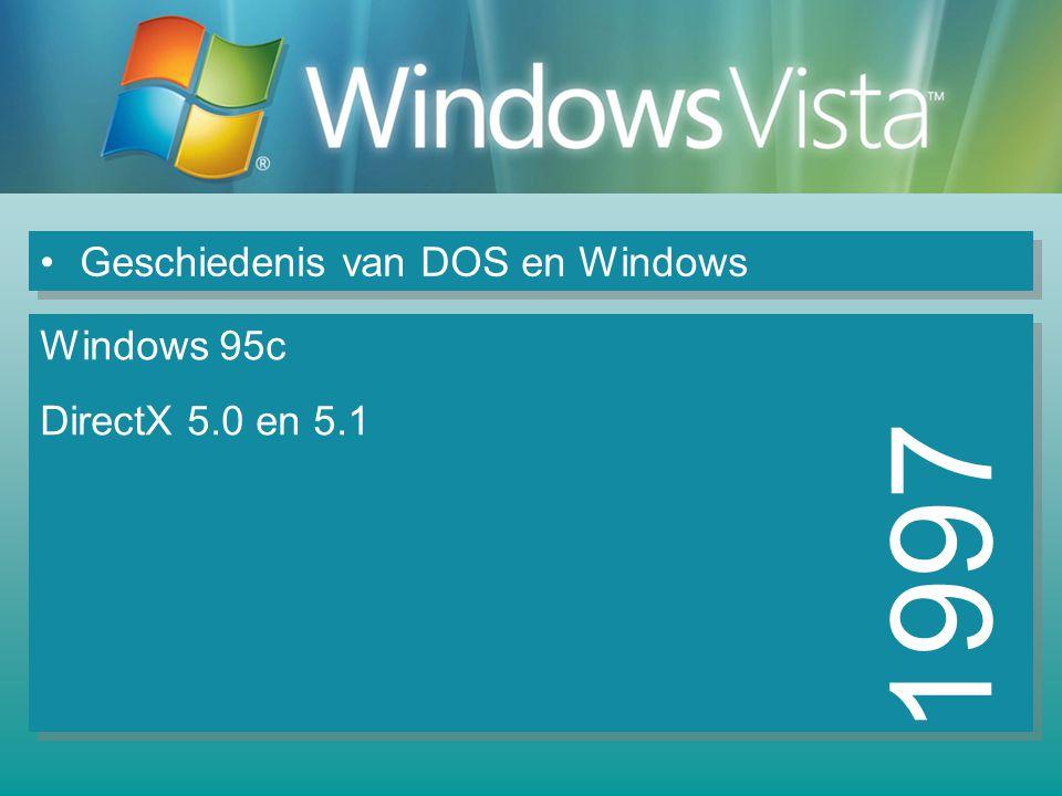 Geschiedenis van DOS en Windows