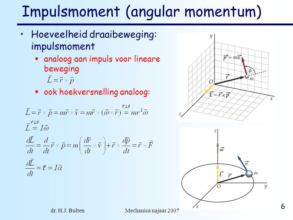 Impulsmoment (angular momentum)