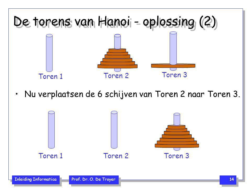 De torens van Hanoi - oplossing (2)