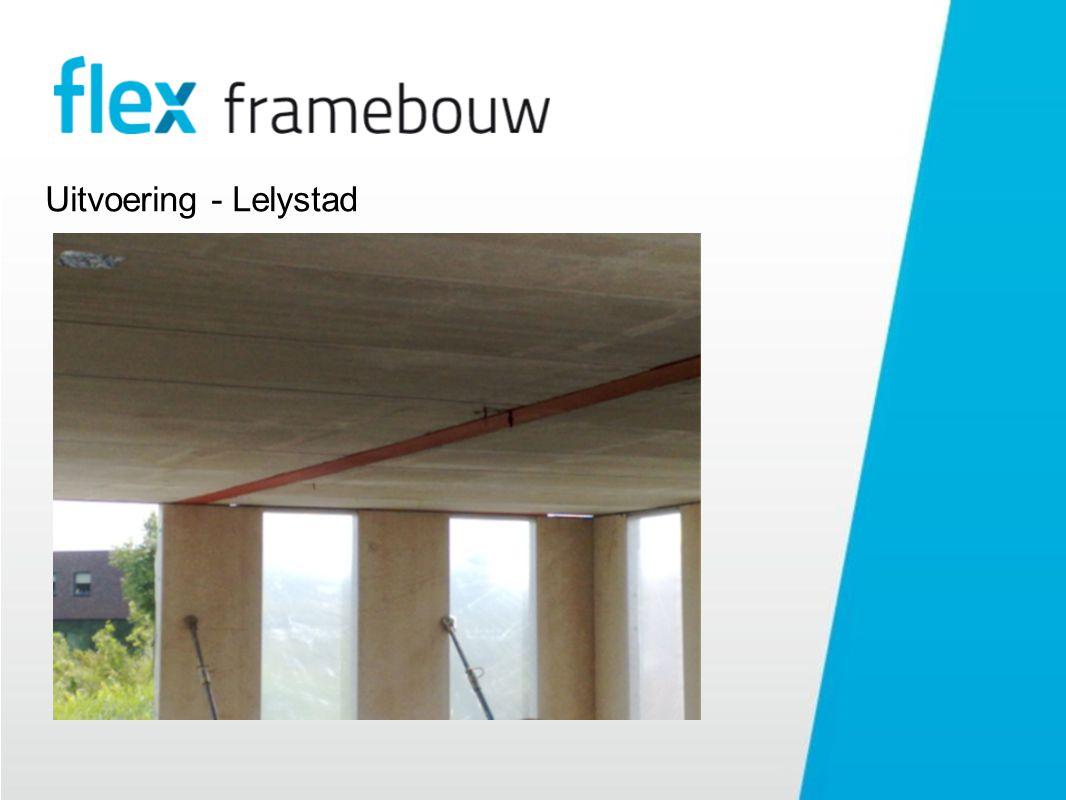 Uitvoering - Lelystad Vloer detail Oplegging op wand