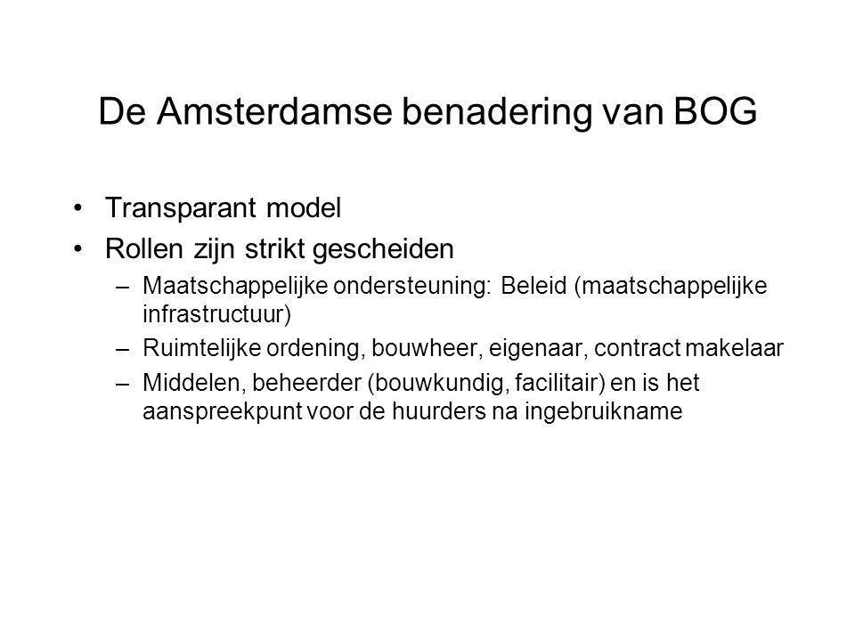 De Amsterdamse benadering van BOG