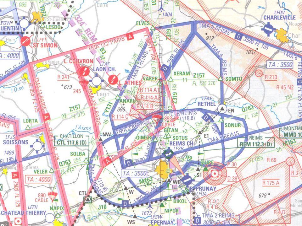 Reims en omstreken De vliegbasis van Reims is gesloten, alle luchtruim in dit verband is verdwenen.