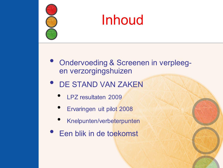 Inhoud Ondervoeding & Screenen in verpleeg- en verzorgingshuizen