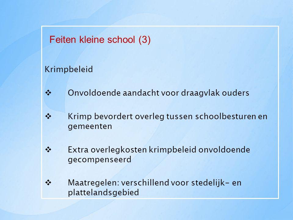 Feiten kleine school (3)