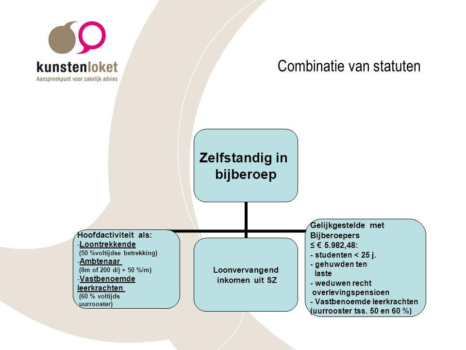 Combinatie van statuten