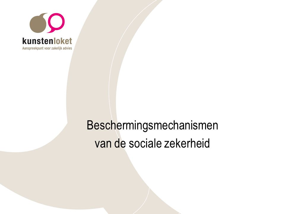 Beschermingsmechanismen van de sociale zekerheid