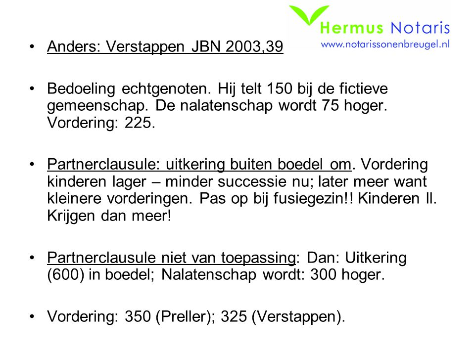 Anders: Verstappen JBN 2003,39