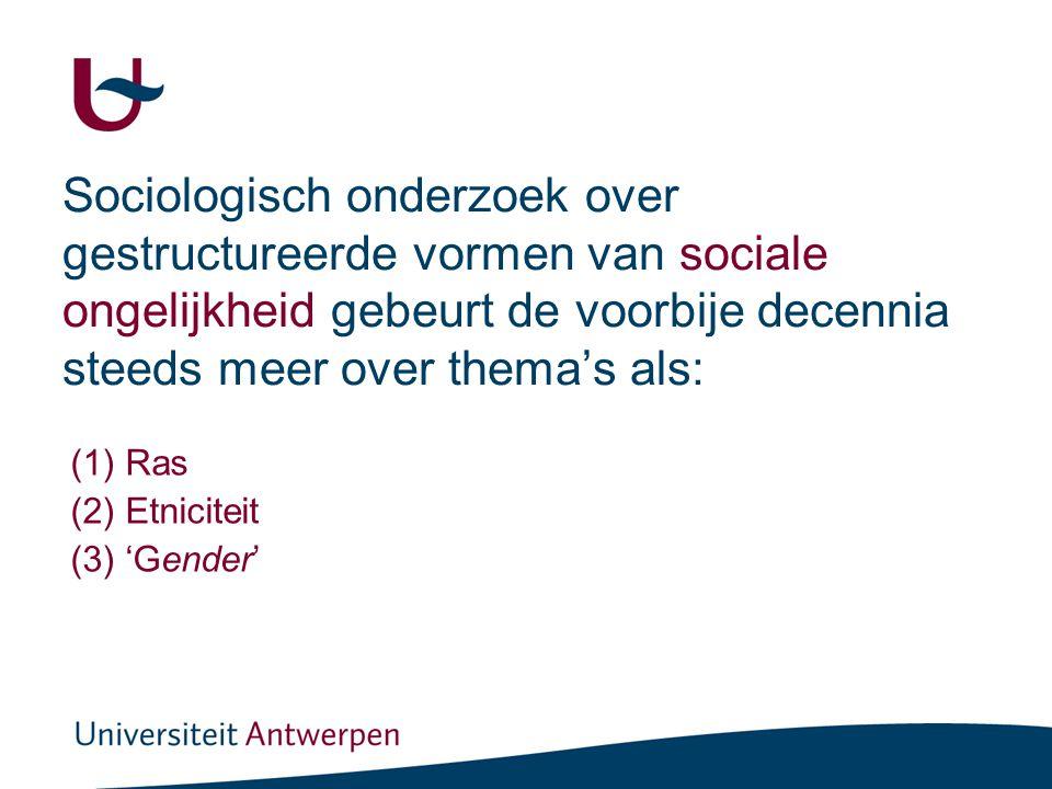 Drievoudige empirische focus (Milner, 1999: 74).