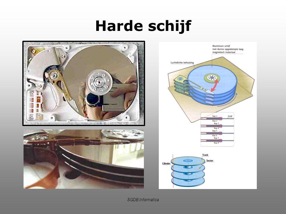 Harde schijf SGDB Informatica