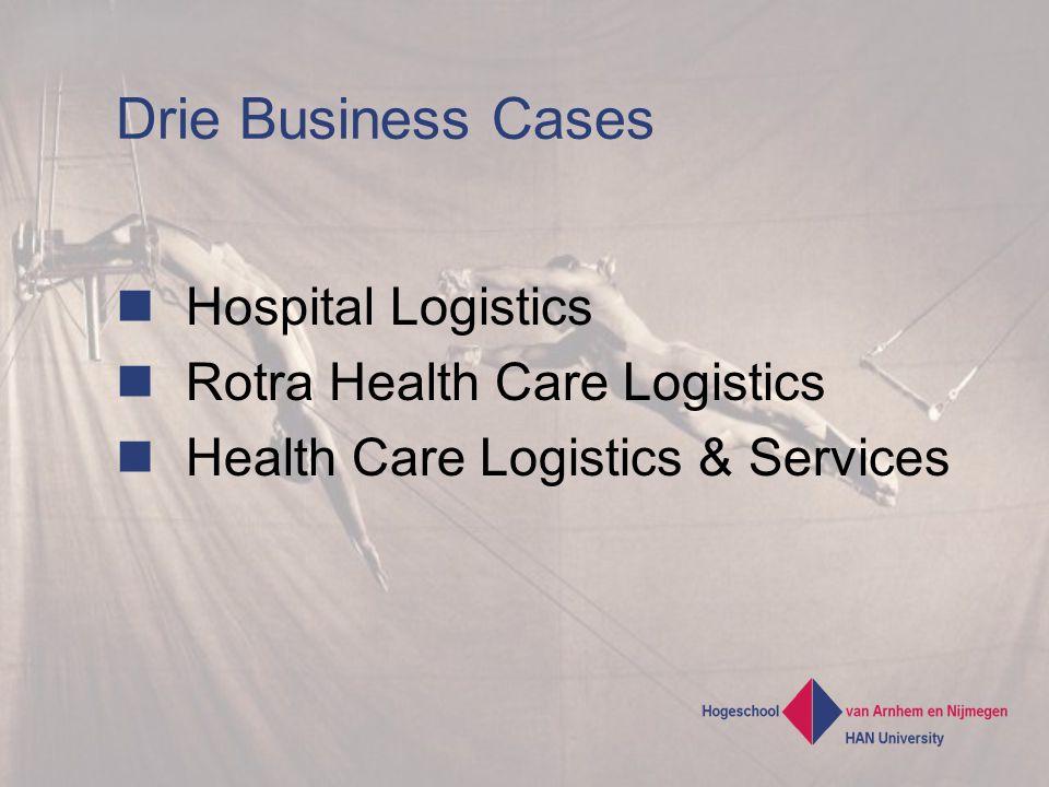 Drie Business Cases Hospital Logistics Rotra Health Care Logistics