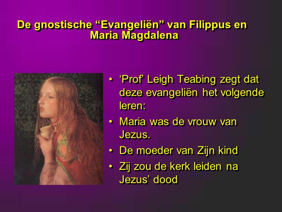 De gnostische Evangeliën van Filippus en Maria Magdalena