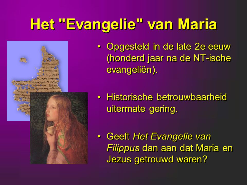 Het Evangelie van Maria