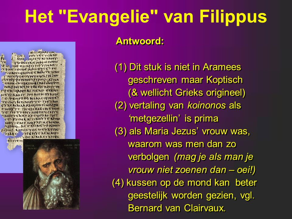 Het Evangelie van Filippus