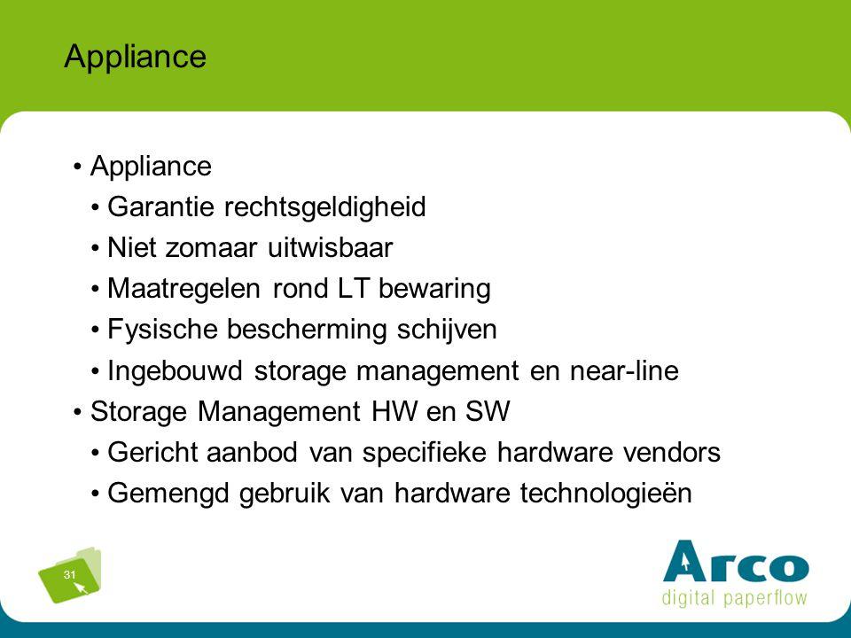 Appliance Appliance Garantie rechtsgeldigheid Niet zomaar uitwisbaar