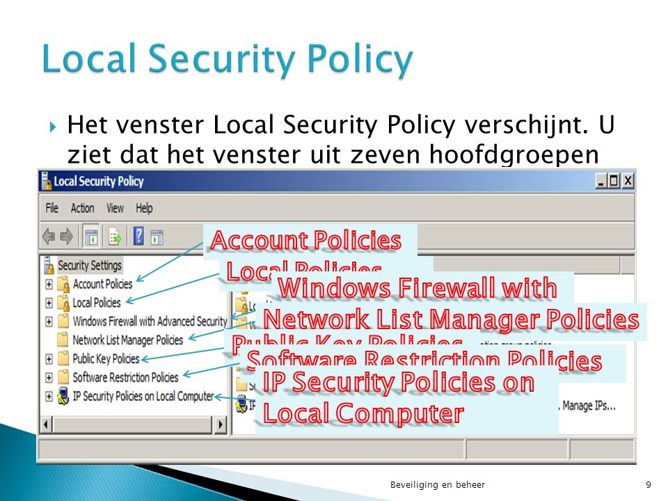 Local Security Policy Windows Firewall with Advanced Security