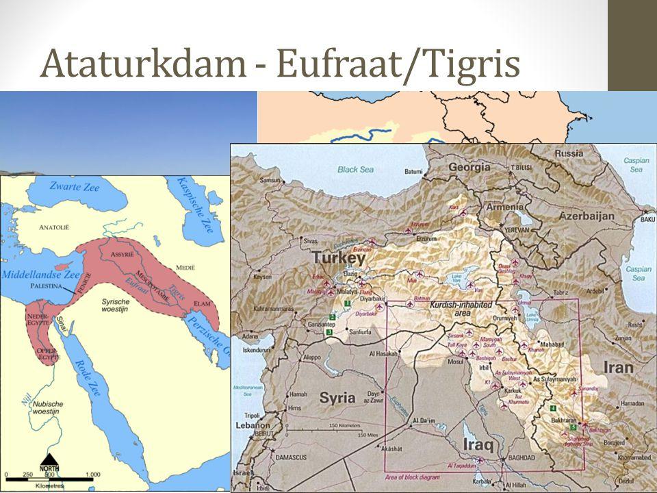 Ataturkdam - Eufraat/Tigris