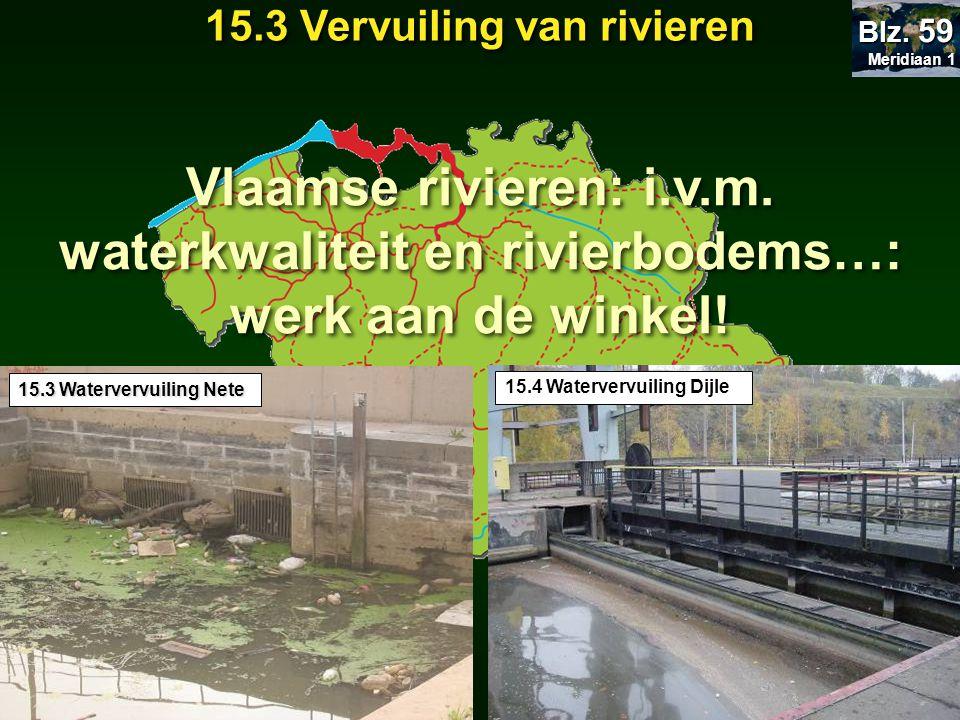 15.3 Vervuiling van rivieren