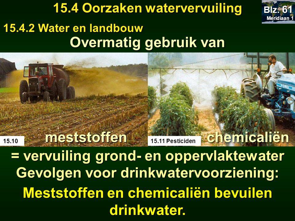 = vervuiling grond- en oppervlaktewater