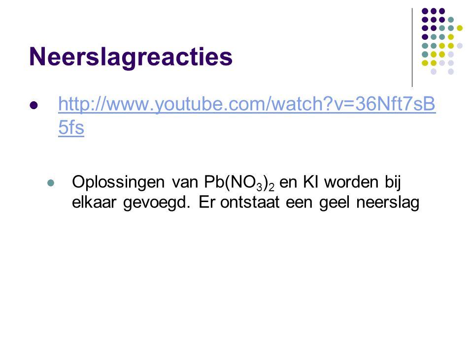 Neerslagreacties http://www.youtube.com/watch v=36Nft7sB5fs
