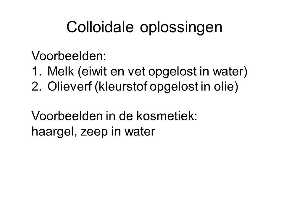 Colloidale oplossingen