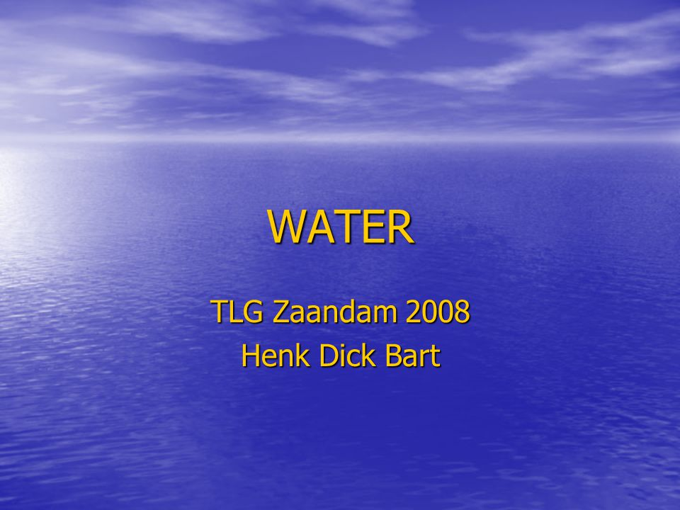 TLG Zaandam 2008 Henk Dick Bart