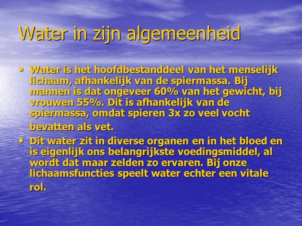 Water in zijn algemeenheid