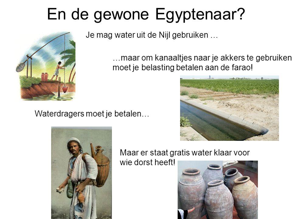 En de gewone Egyptenaar