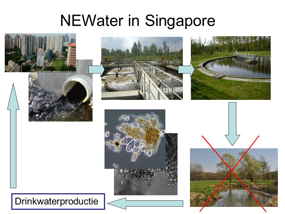 NEWater in Singapore Drinkwaterproductie