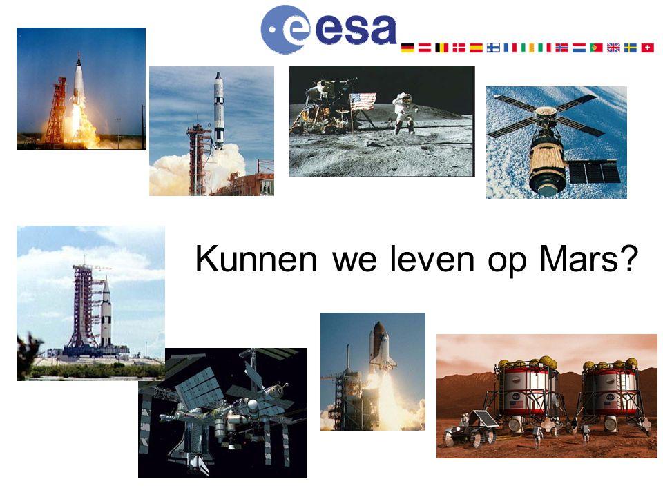 Kunnen we leven op Mars