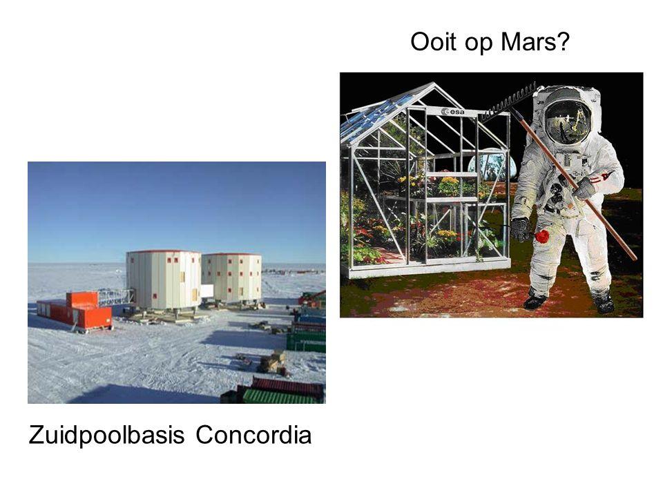 Ooit op Mars Zuidpoolbasis Concordia