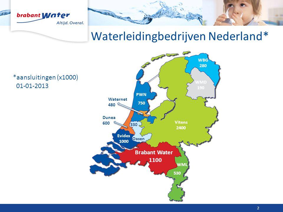 Waterleidingbedrijven Nederland*
