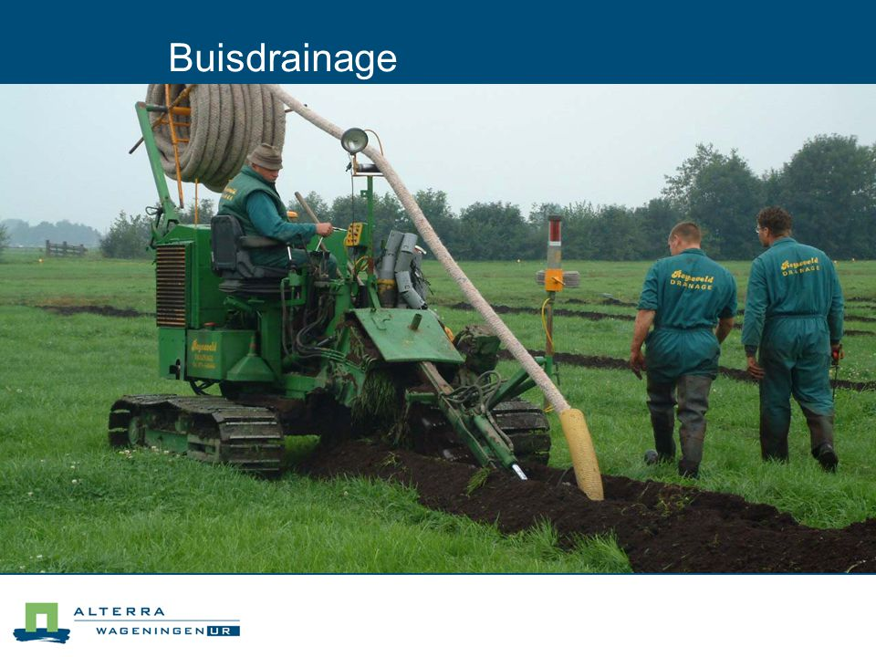 Buisdrainage 04/04/2017