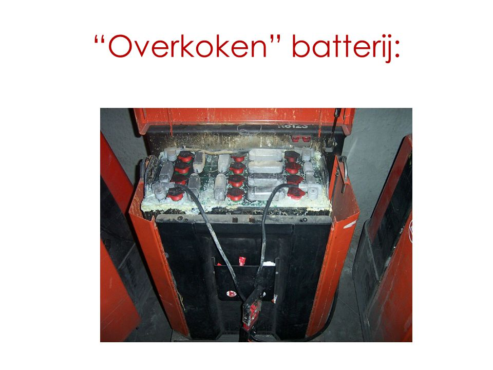 Overkoken batterij: