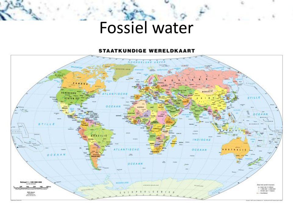 Fossiel water
