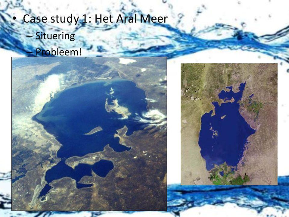 Case study 1: Het Aral Meer
