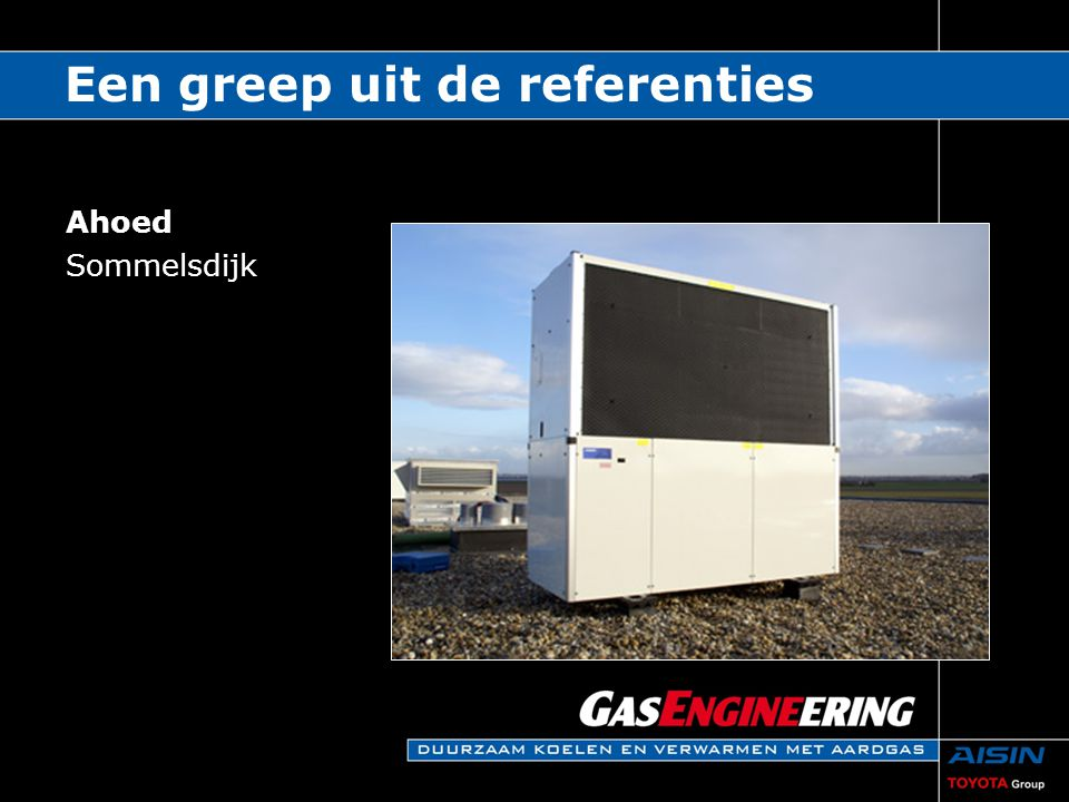 Een greep uit de referenties