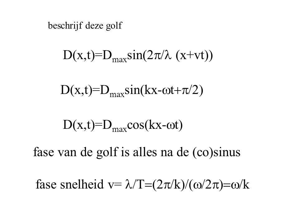 D(x,t)=Dmaxsin(2p/l (x+vt))