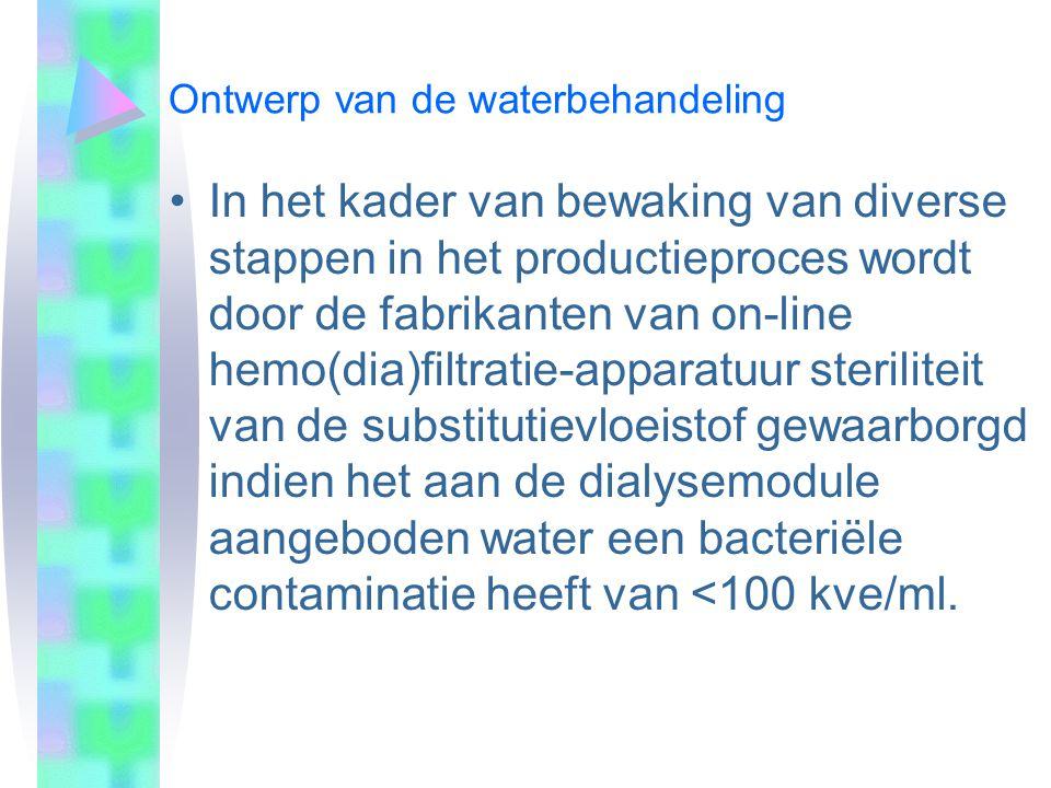 25-3-200425-3-2004 Ontwerp van de waterbehandeling.