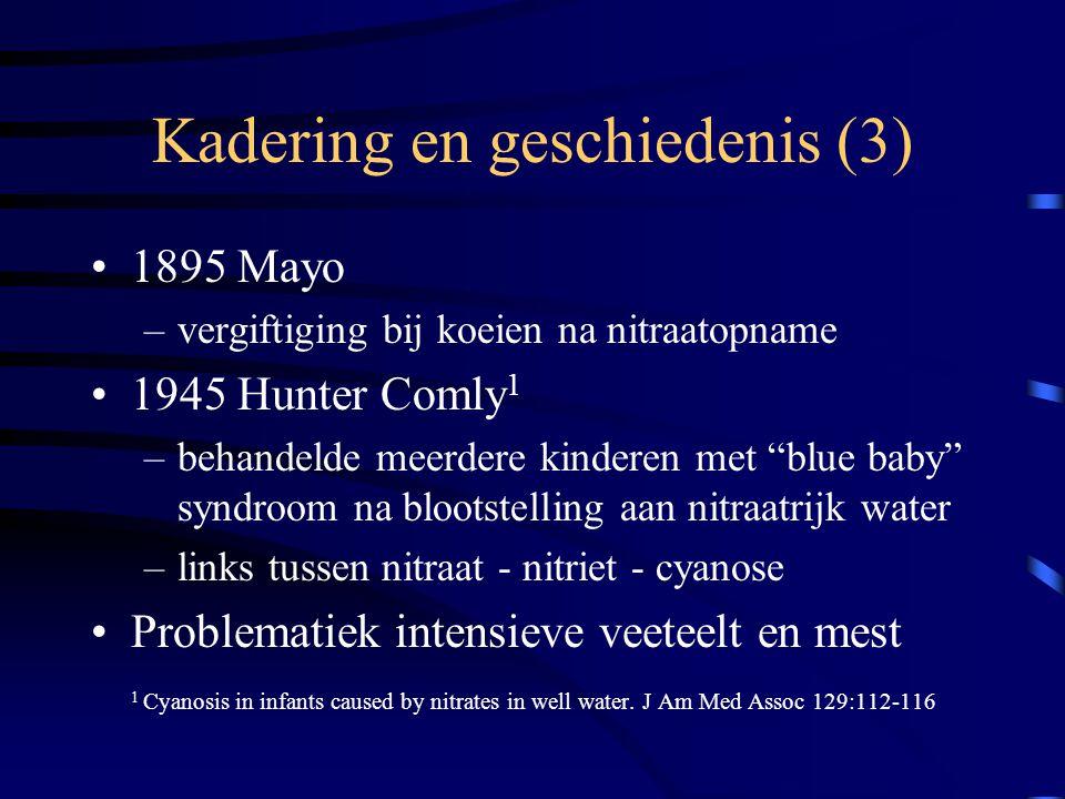 Kadering en geschiedenis (3)