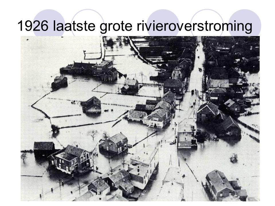1926 laatste grote rivieroverstroming