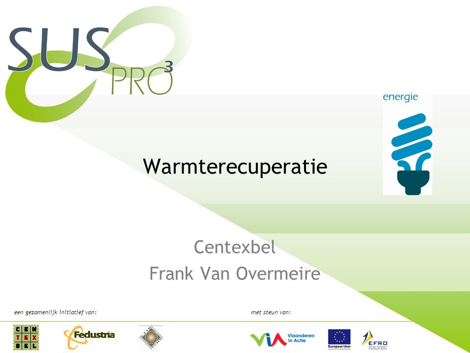 Centexbel Frank Van Overmeire