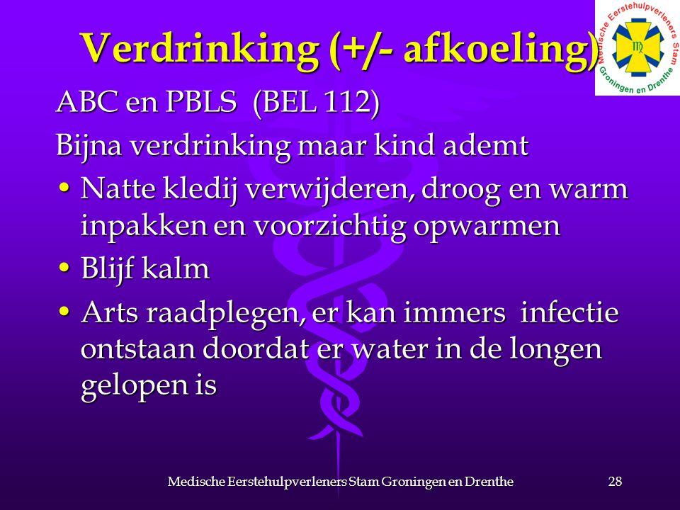 Verdrinking (+/- afkoeling)