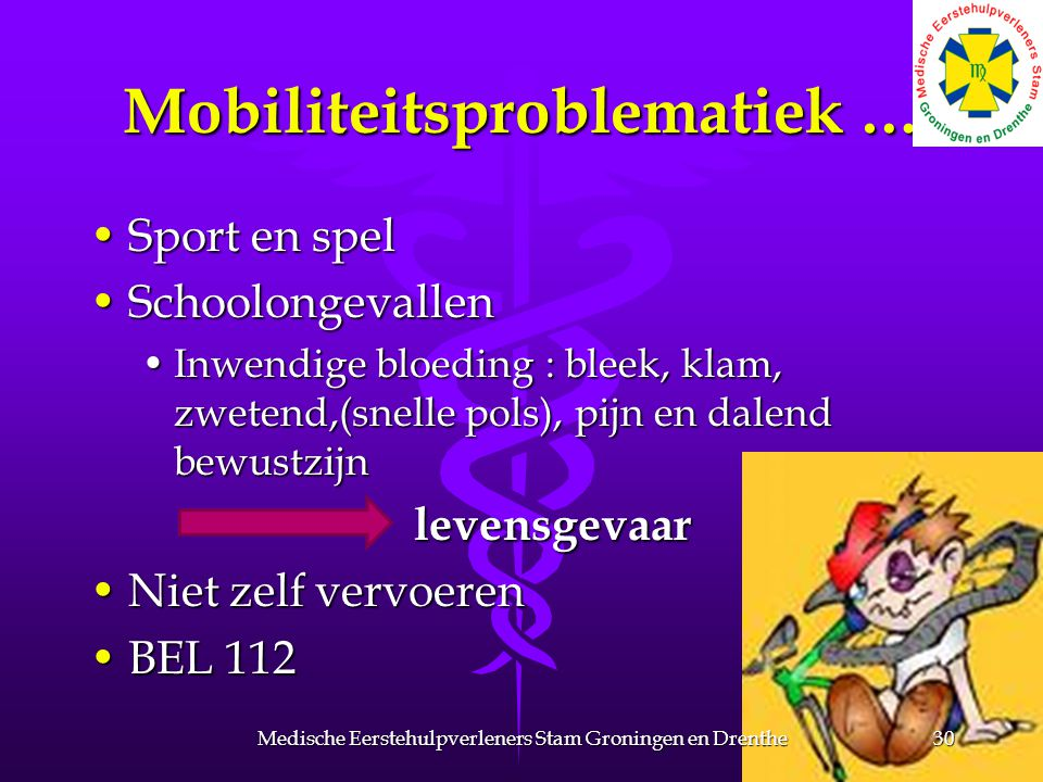 Mobiliteitsproblematiek …