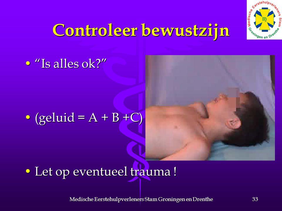 Controleer bewustzijn