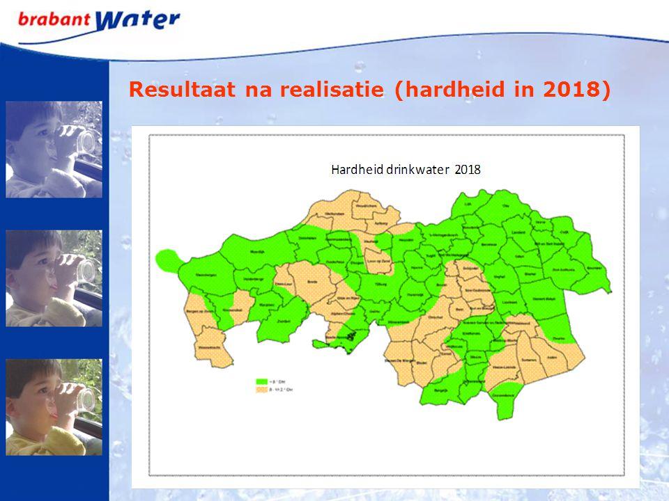 Resultaat na realisatie (hardheid in 2018)