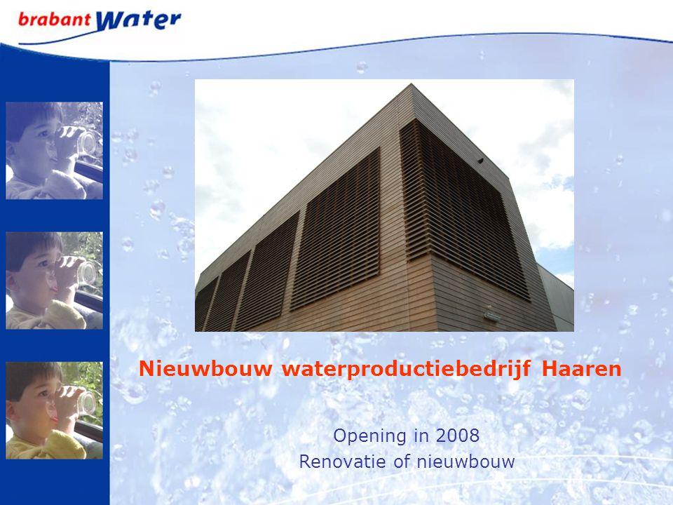 Nieuwbouw waterproductiebedrijf Haaren