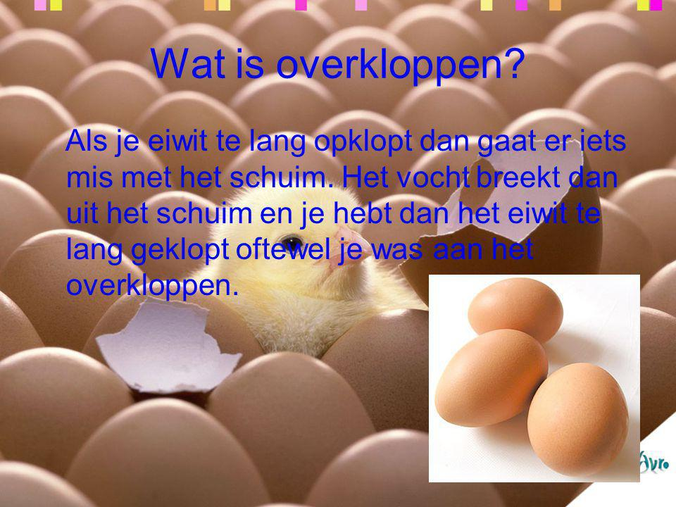 Wat is overkloppen