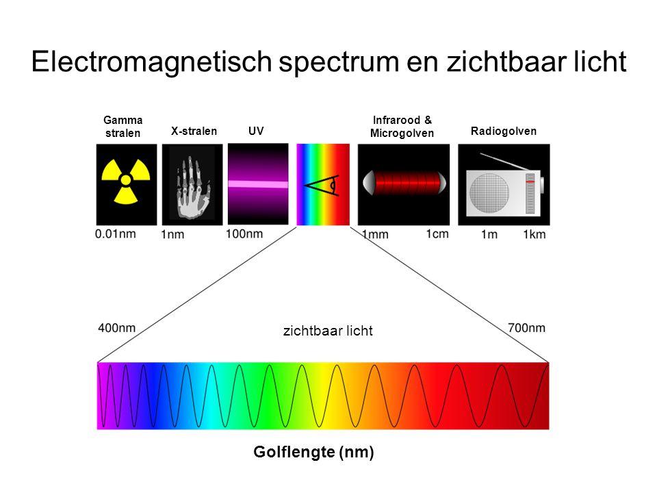 Electromagnetisch spectrum en zichtbaar licht