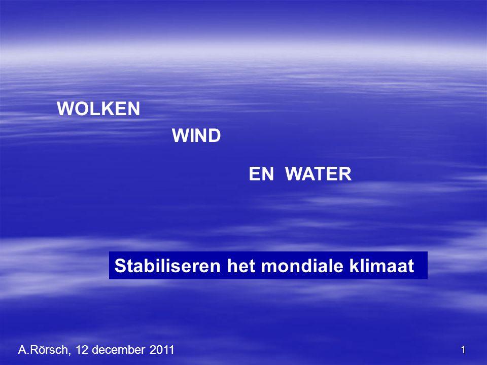 Stabiliseren het mondiale klimaat
