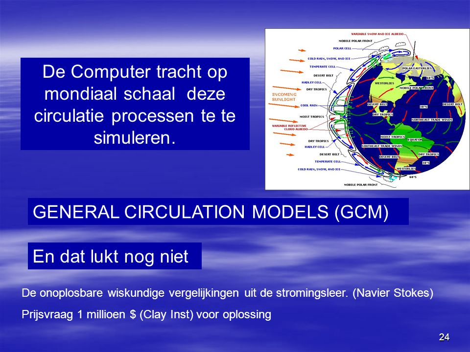 GENERAL CIRCULATION MODELS (GCM)